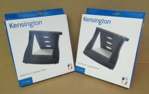 2x New Kensington SmartFit Easy Riser Laptop Cooling Stand K60112